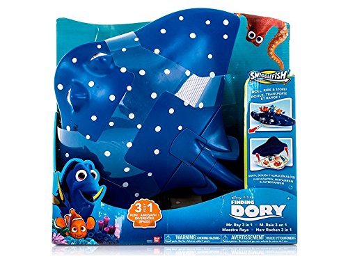 Finding Dory 17636465 - Swiggle Fisch Herr Rochen Playset/Case Spiel