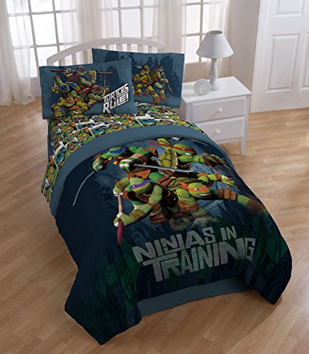 Dark Ninja Turtle Sheet Set with Pillow Cases