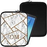 Personalisiert Marmor Neopren Tablethülle Case Tasche (93) für Huawei Mediapad X1 7.0 (7