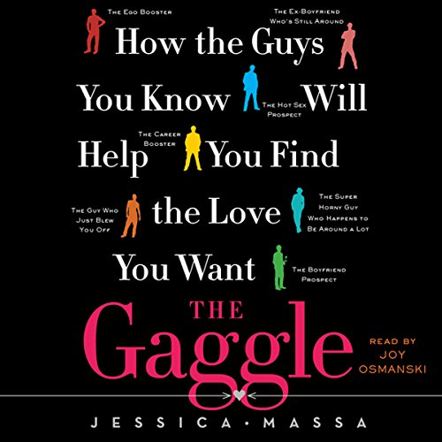 The Gaggle audiobook cover art