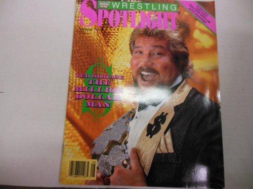 Wwf Magazine 'Ted Dibiase' 'Hulk Hogan' Vol.8 1990
