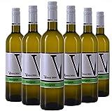 VIPAVA 1894 vin blanc SAUVIGNON 2018, (6 x 0,75 l), vendangé à la main, vin blanc sec