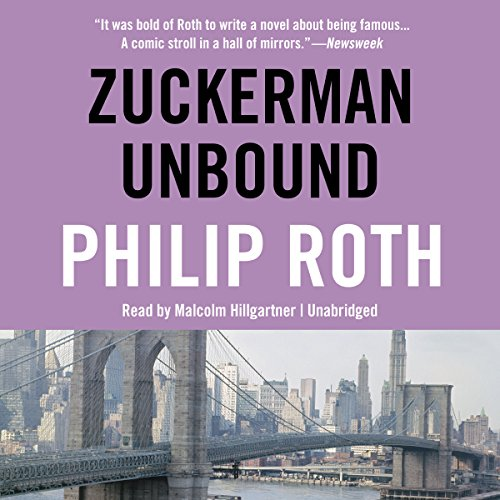 Zuckerman Unbound audiobook cover art