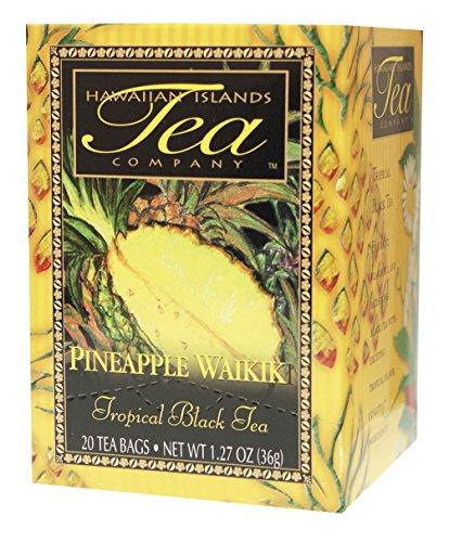 Hawaiian Islands Tea Company(ハワイ・アイランド・ティー・カンパニー) パイナップル・ワイキキ(紅茶) 20P(36g)