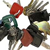 Heavy Equipment Key Set 24 Keys ON Ring FITS: Bobcat CASE Caterpillar Clark Fiat GEHL Genie GRADALL Ingersoll JCB MULTIQUIP SKYTRAK Toyota and More