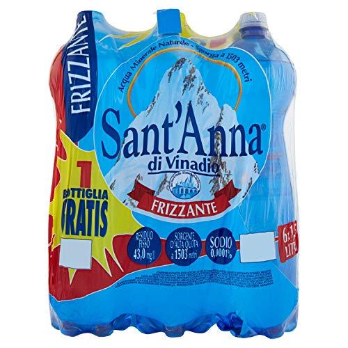 Acqua Sant'Anna Frizzante Di Vinadio 6 X 1,5 L (Conf. 5+1)