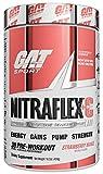 GAT Sport Nitraflex + C Creatine Preworkout Supplement for Strength and Endurance, Strawberry Mango, 30 Servings