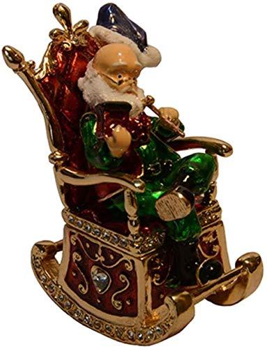 JYHZ cuore rosso forma cristallo Bejeweled Jewelry Box per gioielli