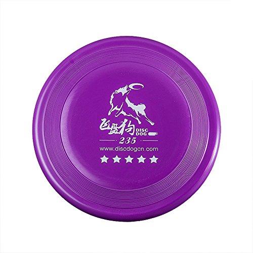 DISCDOG Bite-Resistant Jawz Dog Flying Disc Dog Play Toy Tough Professional Frisbee Training Competition