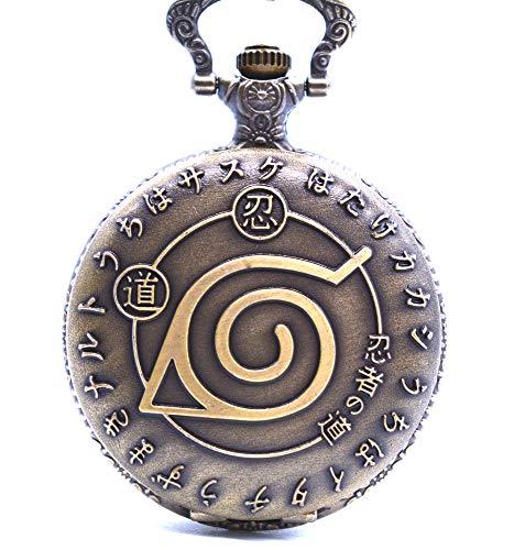 Reloj de bolsillo Naruto con símbolo...