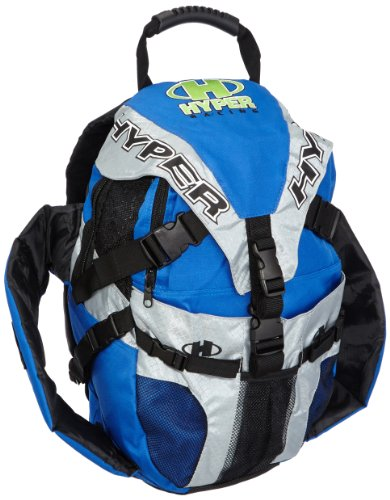 Hyper Rucksack Skate I Mit Seitentaschen I Wasserabweisend I Leicht und funktional I 38.5 x 20 x 55.5 cm I Blau