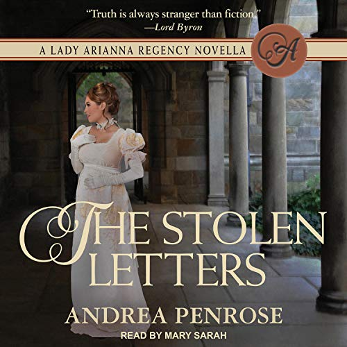 The Stolen Letters Audiobook By Andrea Penrose cover art