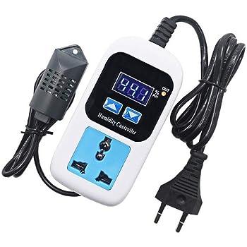 Digital Humidity Controller AC 110V-220V w// Sensor for Humidifier Dehumidifier