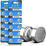 LiCB 20 Stück LR41 knopfzelle batterien, AG3 SR41W 392 1,5V Alkaline Batterie 3 Jahre Lagerfähigkeit 100prozent Voll Garantie