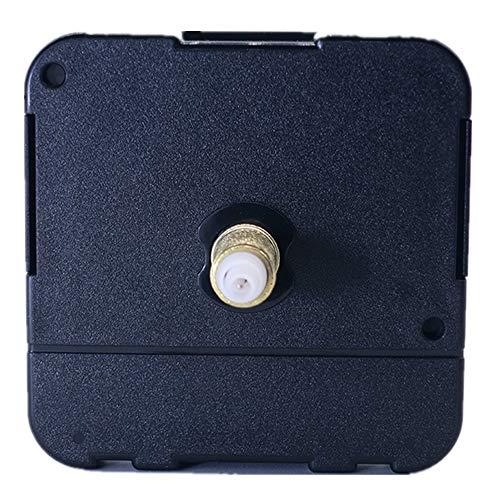 DEEWISH Uhrwerk, HR 8-31mm Axis Length Quarz-Uhrwerk Clock Movement Uhrwerk Quarzuhrwerk DIY Reparatur und Zubehör Einfache Montage EU Standard 56 * 56 * 16.3mm (23 mm, Schwarz)