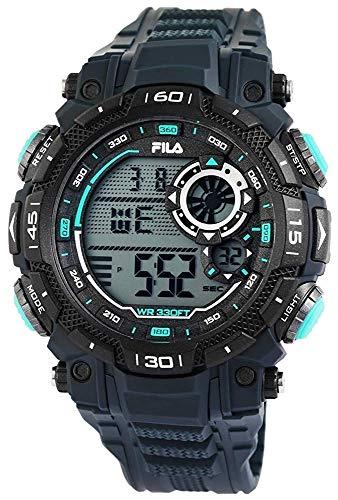Fila Reloj Digital para Unisex Adultos de Cuarzo con Correa en PU FILA38-826-002