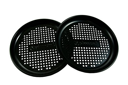 Pizzacraft Personal Pizza Pan / 82in  Set 2  Nonstick finish PC0315