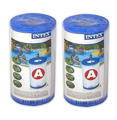 Intex Filteranlagenzubehör - Filterkartusche - Typ A - 2 Stück