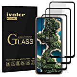 ivoler 3 Unidades Protector de Pantalla para Nokia X20 / Nokia X10, [Cobertura Completa] Cristal Vidrio Templado Premium, [Dureza 9H] [Anti-Arañazos] [Sin Burbujas]
