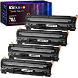 E-Z Ink (TM) Compatible Toner Cartridge Replacement for HP 78A CE278A to use with Laserjet Pro P1606dn, M1536dnf, P1566, P1560, P1606, M1536 Printer (Black,4 Pack)