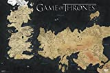 Pyramid Game of Thrones Poster, Weste Wall-Karte