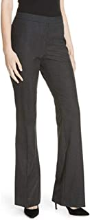 Tulea Side Zip Tropical Stretch Wool Trousers, Dark Grey, 12