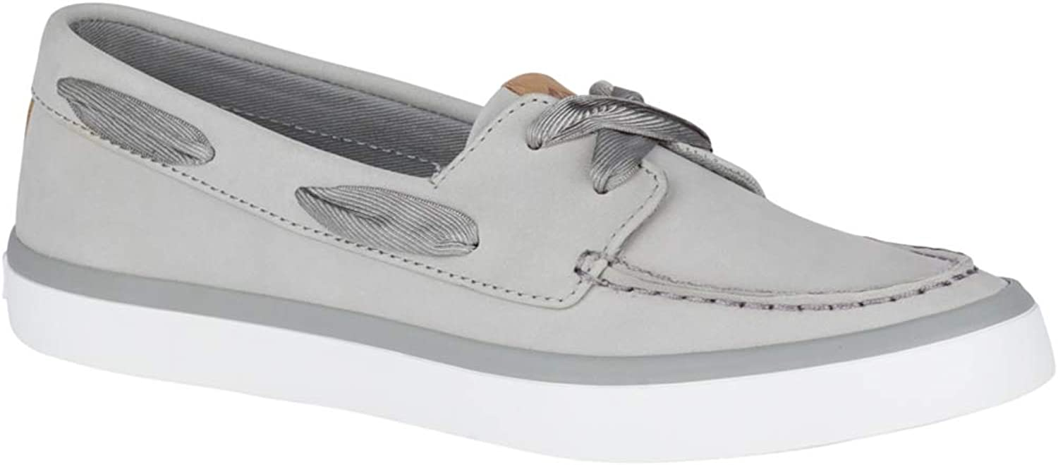 Sperry Womens Sailor Boat Leather Sneaker