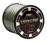 FOX Torque Line 0,38mm 9,55kg 850m Karpfenschnur, monofile...