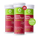 Amazing Grass Effervescent Electrolyte Tablets: Greens + Hydration Water Flavoring Tablet with Vitamins, Watermelon...