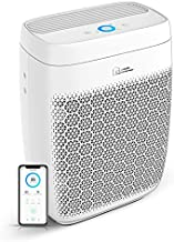 Zigma Smart WiFi Air Purifier for Home, True HEPA 5-in-1 Air Purifiers w/Voice Control for Dust, Pollen, Pets Hair, Odor, Smoke, Air Cleaners for Living Room, Basement, Office White Aerio-300