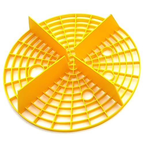 GDFGBDCD Nützliches Kfz-Schutzeinsatz für Waschbrett Auto Eimer Filter Sand Isolation Netz (None YW)