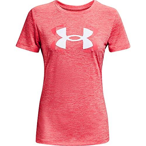 Under Armour Tech Twist Graphic Short Sleeve T-Shirt Camiseta, Brilliance/White (819), M para Mujer