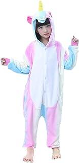 9d4fee175f Z-Chen Pigiama Tutina Costume Animale - Bambina e Bambino