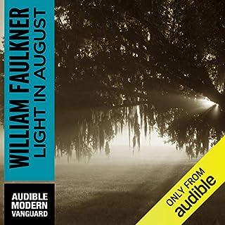Light in August audiobook cover art