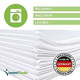 VERONIMEDA - Lenzuola lavabili per lettini massaggio (10 pz.) / Coperture per lettini massaggio (200x80cm)
