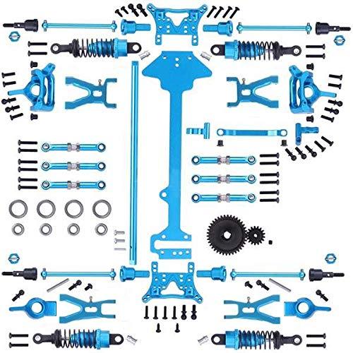 Liseng 1 Satz Komplettes Upgrade Teile Kit für 1/18 WLtoys A959 A969 A979 K929 Elektro RC Auto Off Road Buggy Metall Ersatz