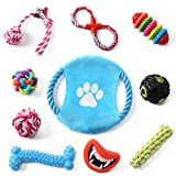 set of chew toys for small and medium dogs