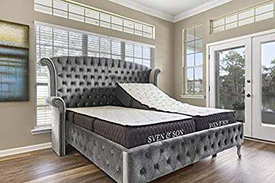 """New Sven & Son Twin XL Mattress, Bed in A Box, 12"""" Luxury Cool Gel Memory Foam, Pressure Relief & Support, Designed in USA (Twin XL, Mattress Only 12"""" Medium Soft)"""