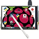3.5 inch 320x480 Resolution LCD Monitor Display with Touch Pen for Raspberry Pi 4 Model B 3 B Support Raspbian Ubuntu Mate Kali The perseids TFT Touch Screen for Raspberry Pi 2B A A+