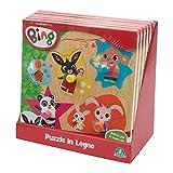 Giochi Preziosi Bing - Puzzle de madera con mango fácil , color/modelo surtido