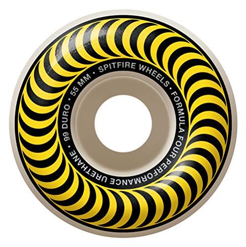 Spitfire Formula Four Classics 99 Skate Board, gelb, 55 mm