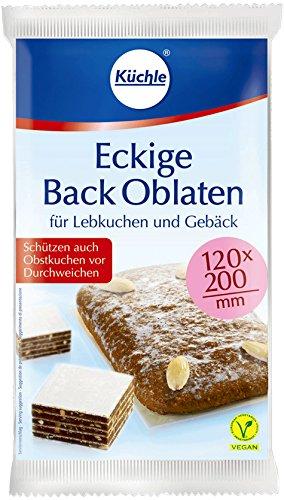Küchle Backoblaten eckig 10St.