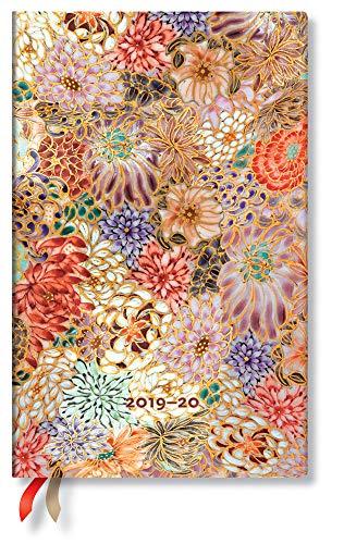 Paperblanks 18-Monats-Planer & Kalender | Juli 2019 - Dezember 2020 | Kikka | Woche für Woche (vertikal) | Maxi (210 x 135 mm)