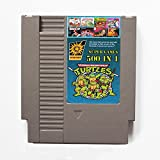 500 en 1 NES Cartucho de juego de Nintendo con Contra, Turtles Ninja, Super Mario, Double Dragon -...
