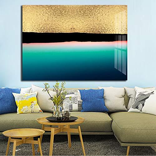 Geiqianjiumai HD Druck Abstrakte Leinwand Poster Moderne Dekoration Bild Home Decoration Wohnzimmer Wandkunst Poster Rahmenlose Malerei 50x75 cm