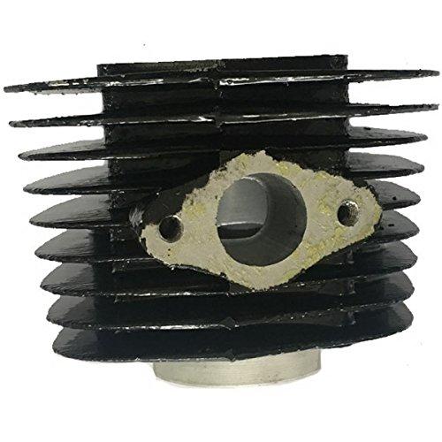 CDHPOWER Black Cylinder Body 66cc/80cc-40mm Gas Motorized Bicycle Gas Engine Cylinder 2 Stroke Gas Motor Cylinder for 66cc/80cc Gas Motorized Bicycle