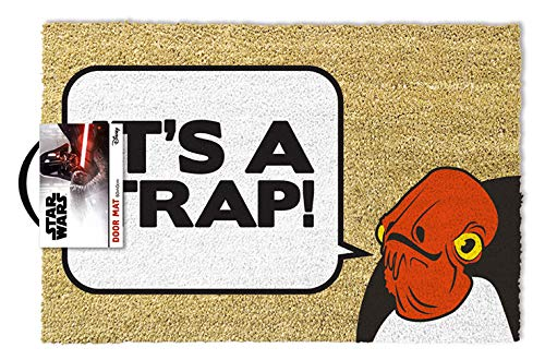 Star Wars - Doormat Admiral Ackbar It Is A Trap