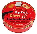 Adventskalender Apfel, Zimt und Todeshauch 2017 - Krimi-Adventskalender mit 24 Karten zum Aufhängen: Krimi-Adventskalender 2017