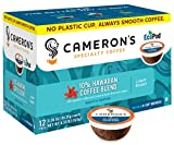 Cameron's Coffee Single Serve Pods, 10% Hawaiian Blend, 12 Count (Pack of 6)