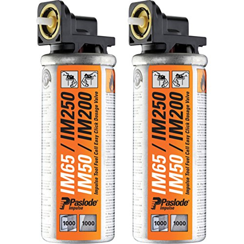 Advanced Paslode Impulse Mini Gas Fuel Cell (Pack of 2) for IM65, IM65A,...
